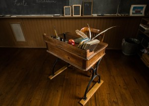Teacher's Desk – Linn School, by Todd Petrie