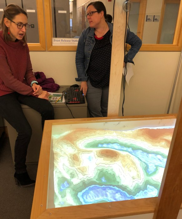 XR Studio Idea Exchange – Geology Dept. AR Sandbox
