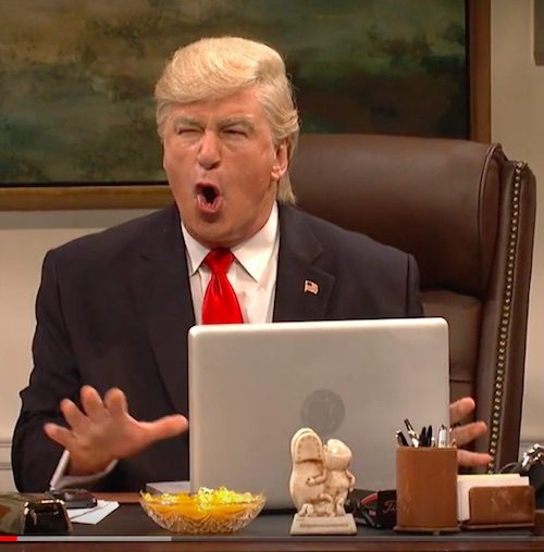 Dlisted | Alec Baldwin (Thankfully) Reprised Trump On SNL ...