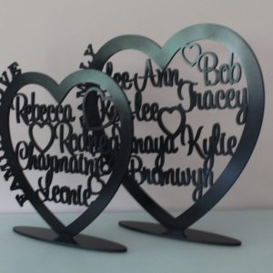 Personalised Wooden Family Plaque