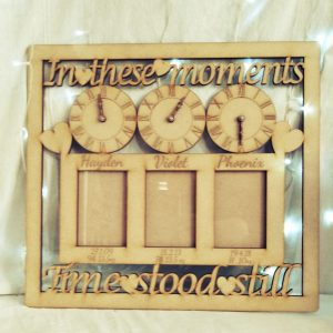 In These Moments Triple Photo Frame