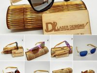 Bamboo Sunglasses for Men Women Fashion Eyewear