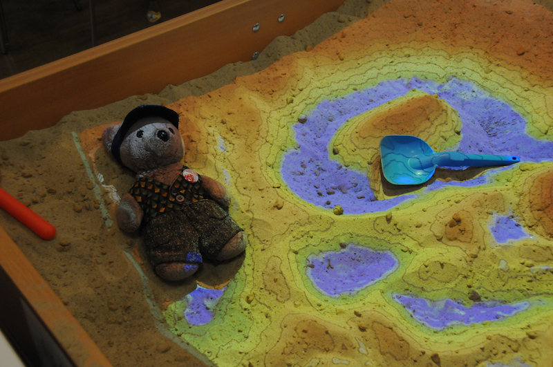 Me in the sand pit