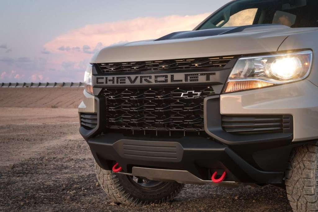 2021 Chevrolet Colorado debuts with a mild facelift - dlmag