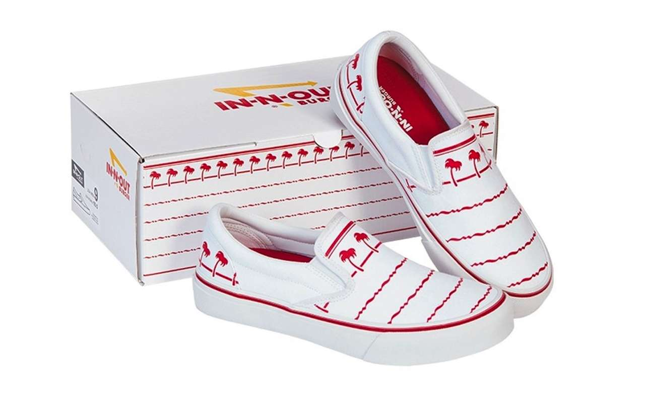 In-N-Out Burger Signature Drink Cup Slip-On Shoe Release