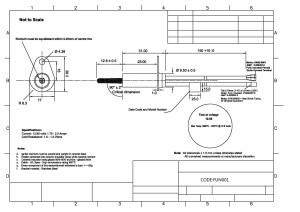 Silicon Nitride Igniter  12V  COM11694  SparkFun
