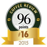 Coffee Review's No. 16 coffee of 2015