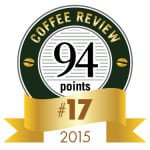 Coffee Review's No. 17 Coffee of 2015