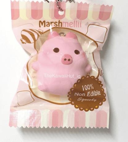 Creamiicandy Marshmellii Marshmallow Pig Squishy On Storenvy