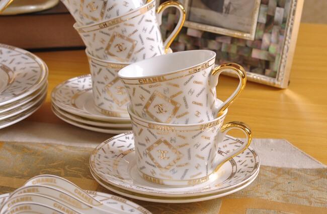 Chanel Luxury Brand Fine Bone China Tea Set On Storenvy