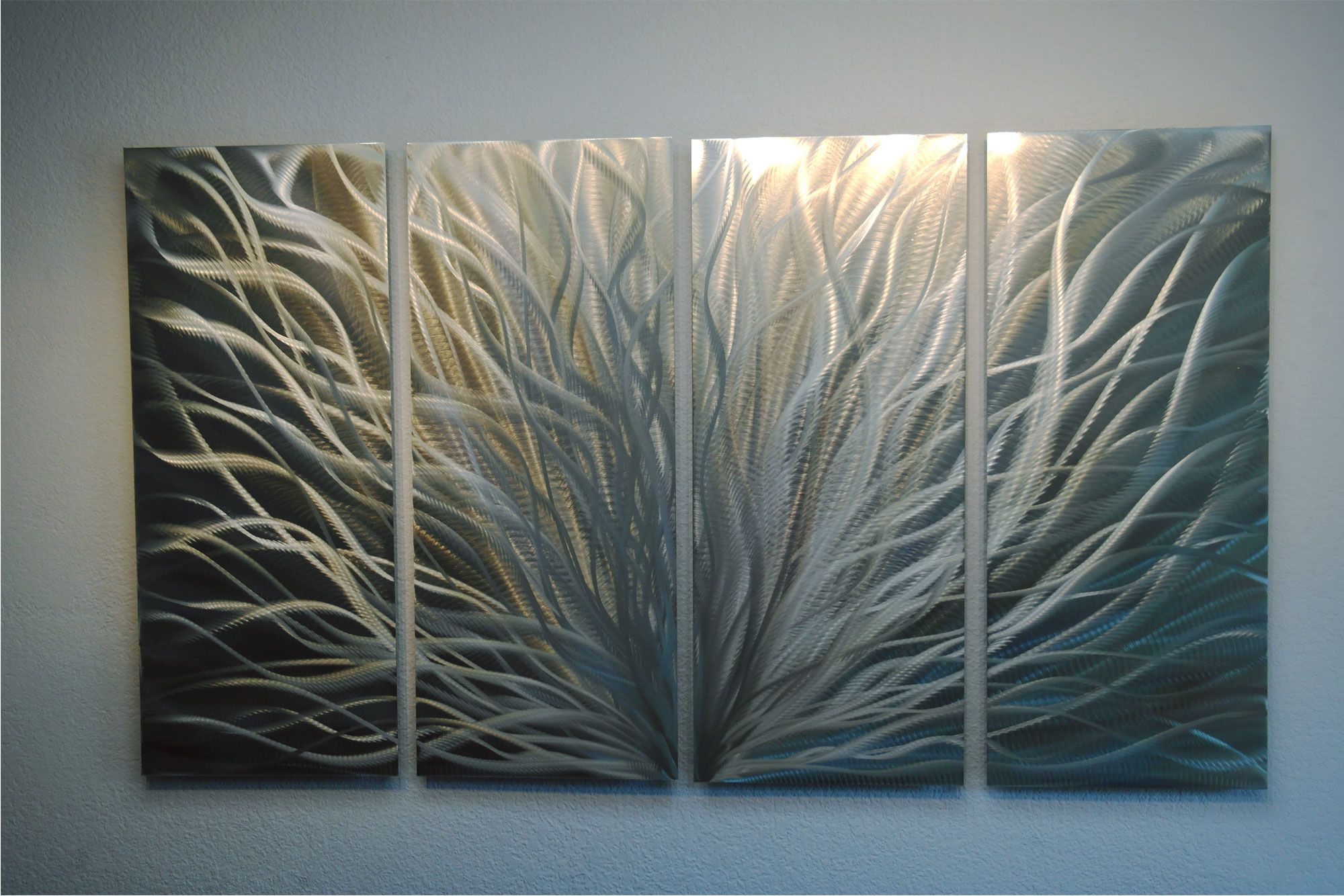 Radiance Silver And Gold 36x63