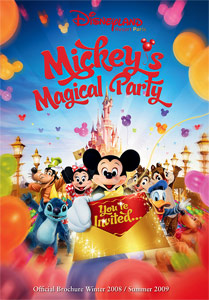 Mickey's Magical Party brochure