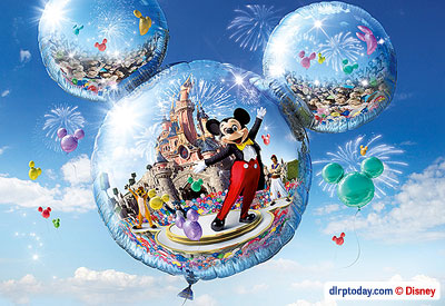 Mickey's Magical Party advertising