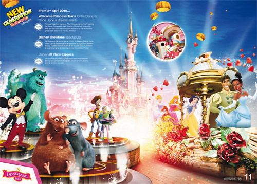 Disneyland Paris New Generation Festival Brochure