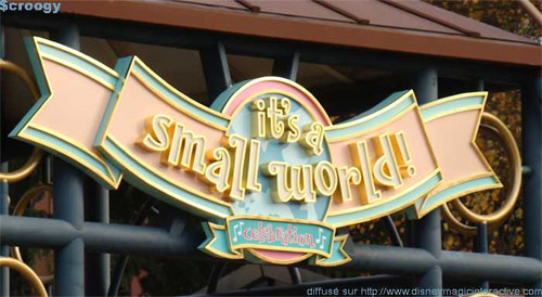 It's a Small World - Celebration all-round!