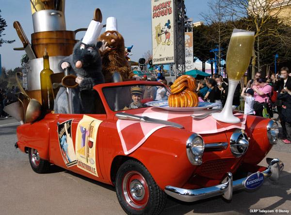 Ratatouille in Disney's Stars 'n' Cars