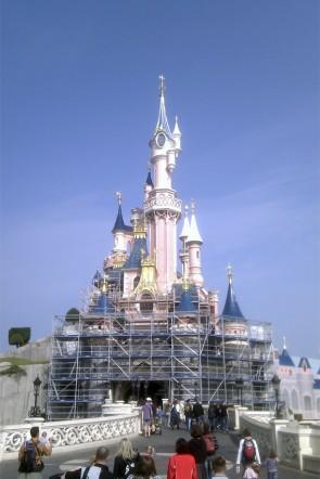 Sleeping Beauty Castle restoration