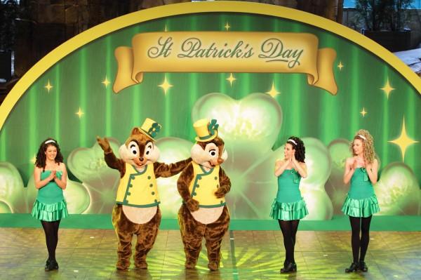 St Patrick's Day at Disneyland Paris