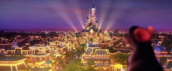 Ratatouille: The Ride Disneyland Paris logo & trailer