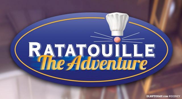 Ratatouille The Adventure Disneyland Paris ride logo