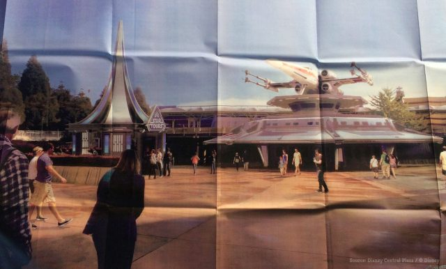 Star Tours 2: The Adventures Continue plans, Disneyland Paris, Star Wars