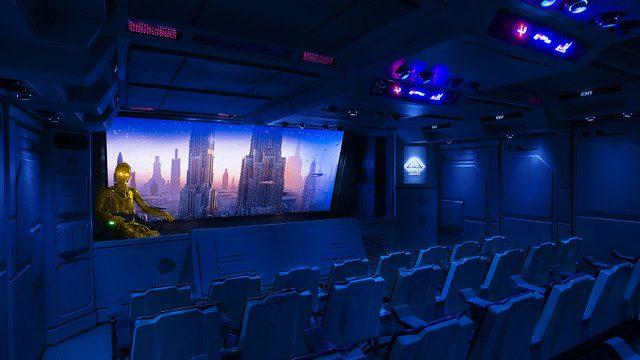 Star Tours - The Adventures Continue, Disneyland Paris