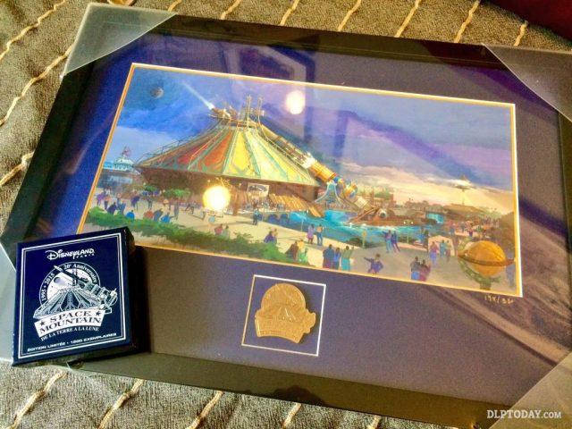 Space Mountain: De la Terre à la Lune Commemorative 20th Anniversary merchandise