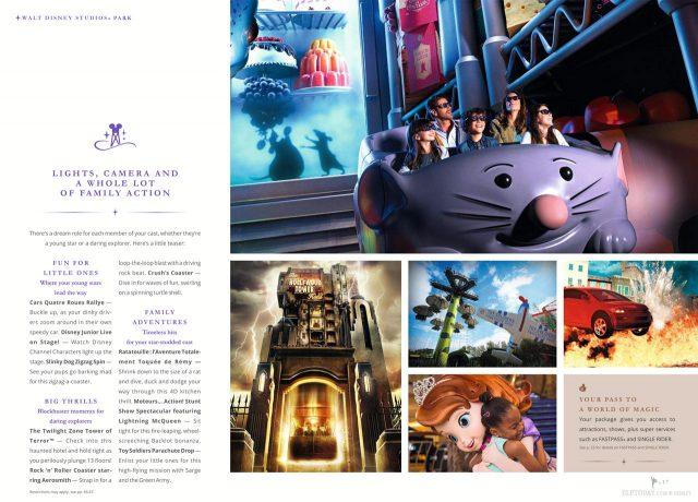 Disneyland Paris 25th Anniversary brochure