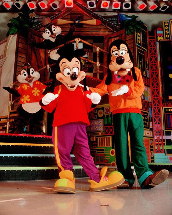 Max Goof in Disney's Christmas Parade at Disneyland Paris