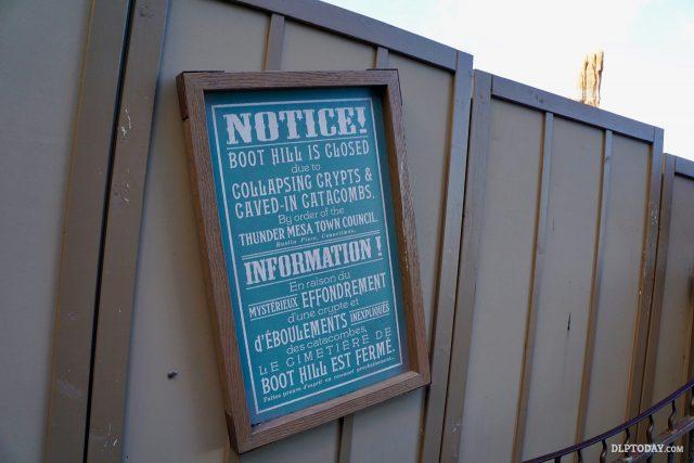 Big Thunder Mountain Disneyland Paris Experience Enhancement Programme 25th Anniversary Refurbishment