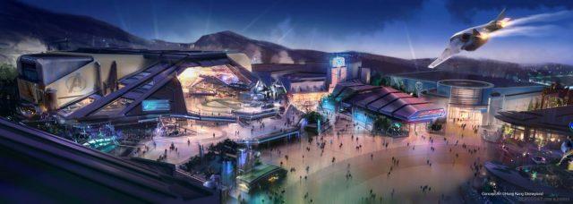 Hong Kong Disneyland multi-year expansion project