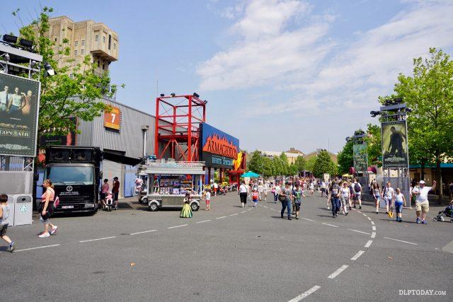 Walt Disney Studios Park at Disneyland Paris - Backlot