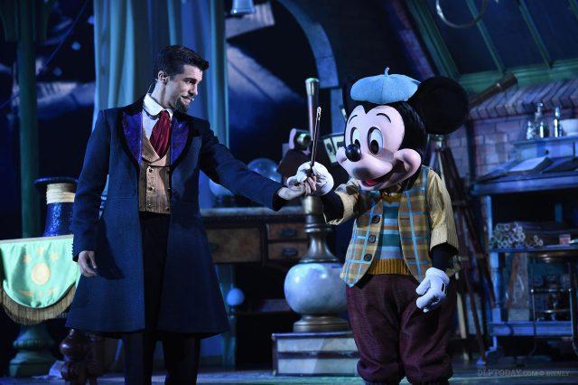 Mickey and the Magician at Animagique Theater in Walt Disney Studios Park, Disneyland Paris