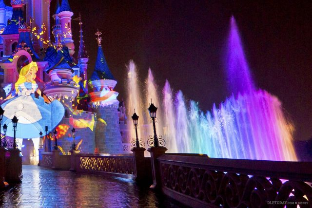 Disney Illuminations will light up refurbished castle moat with extra fountain lights