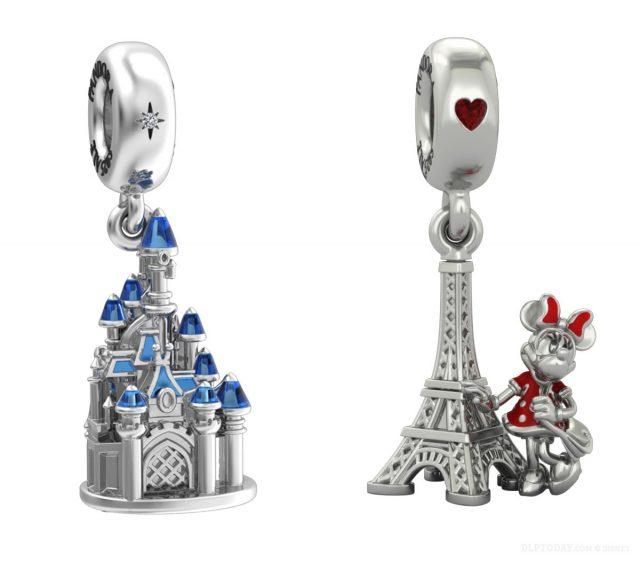 Disney Pandora Disneyland Paris exclusive charms