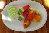 local fruit at Goldeneye