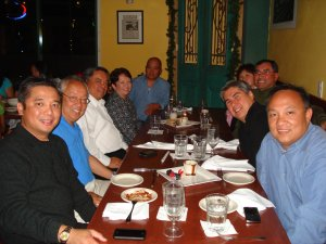 """<h3> Splash</h3>  The association holds monthly socials called """"Tambayan"""" at restaurants owned or managed by fellow Lasallians. This one dates to August 2009 at Bistro Luneta.  <a href=""""http://dlsaanc.org/splash/"""">Bistro Luneta Mixer</a>"""