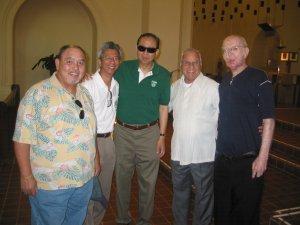 "<h3> Splash</h3>  Br. Aquinas aka Dominic Berardelli lead alumni in visiting ailing Br. Felix Masson, FSC at Mont La Salle in Napa.  <a href=""http://dlsaanc.org/splash/"">Alumni Visit Napa</a>"