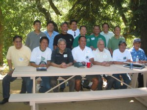 """<h3> Splash</h3>  LSGH alumni have their group photo with Br. Dominic and Br. Armando at the 2007 summer picnic at Mont La Salle.  <a href=""""http://dlsaanc.org/splash/"""">2007 summer picnic at Mont La Salle</a>"""