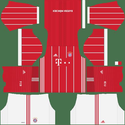 Bayern Munich Home Kit Dream League Soccer