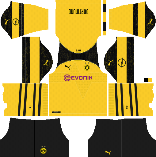 Borussia Dortmund Kits & Logo - Dream League Soccer (2018 ...