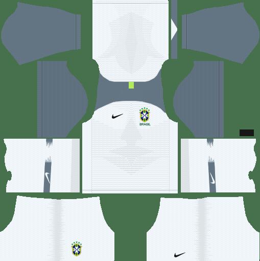 301a45c1e9d Brazil 2018 World Cup Kits And Logo URL Dream League Soccer