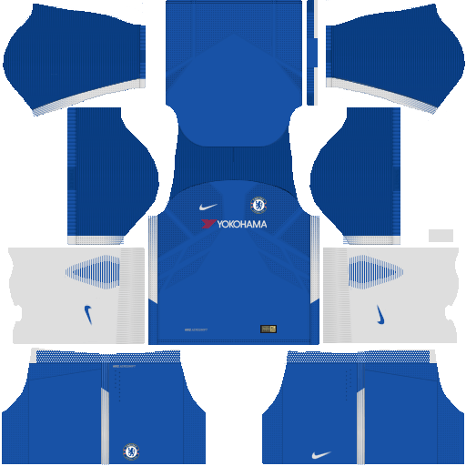 Chelsea Home Kit Dream League Soccer