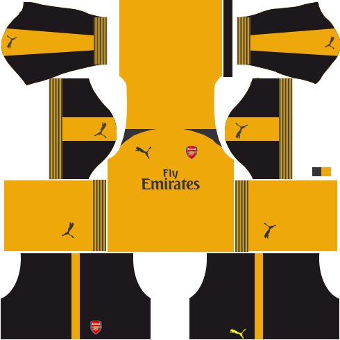 Arsenal Away Kits 2016-2017