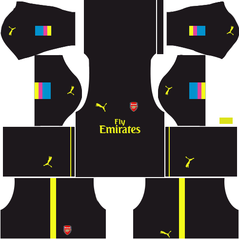 Arsenal Goalkeeper Home Kits 2016-2017