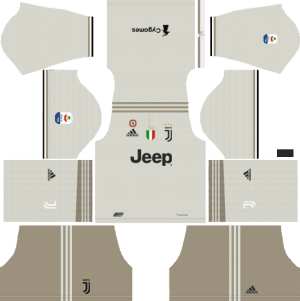 Juventus Away Kits 2018-2019 Dream League Soccer