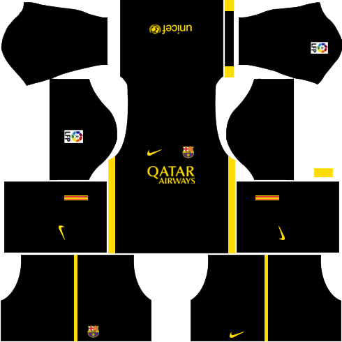 Barcelona Third Kit 2013-2014