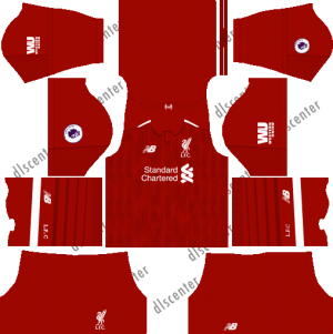 Liverpool Kits & Logo [2018-2019] Dream League Soccer - Dream League