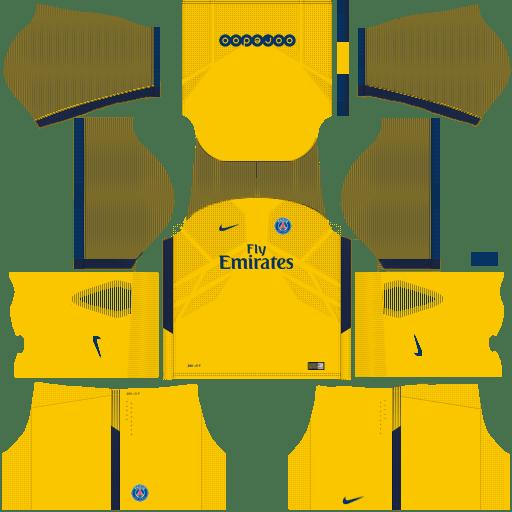 PSG Away Kit Dream League Soccer