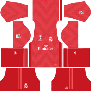 9ffcb97e38c 2018-2019 Real Madrid Kits and logo 512×512 (Updating) Dream League soccer.  4- GK Home Kit